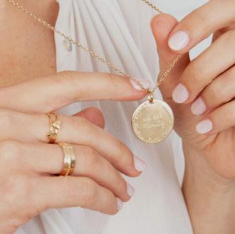 Choix de bijoux personnalisés