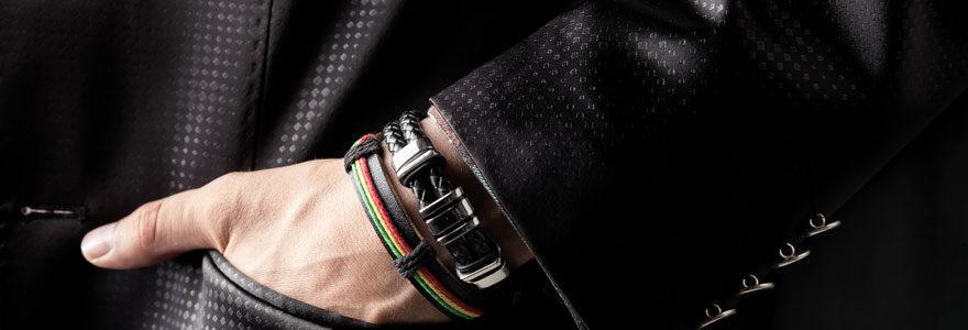 le bracelet en cuir